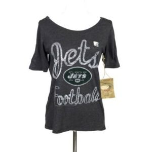 NEW Junk Food  Large Tee New York Jets Football